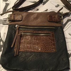 Bueno Faux Leather/Alligator Bag